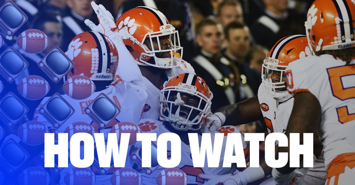 Wake Forest Vs Clemson 2017 Live Stream How To Watch
