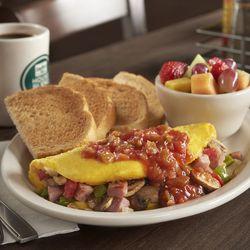 Western omelet at Metro Diner