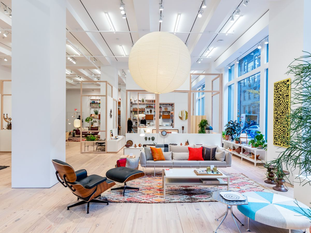 Furniture stores in long island ny - Herman Miller Flagship In New York City Max Touhey