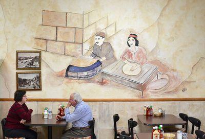 Saj's Bakery Interior