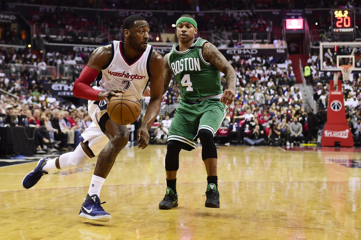 John Wall's late 3 leads Wizards past Celtics, forces Game 7
