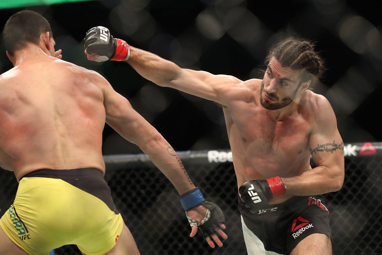 community news, UFC Fight Night 105 results from last night: Elias Theodorou vs Cezar Ferreira fight recap