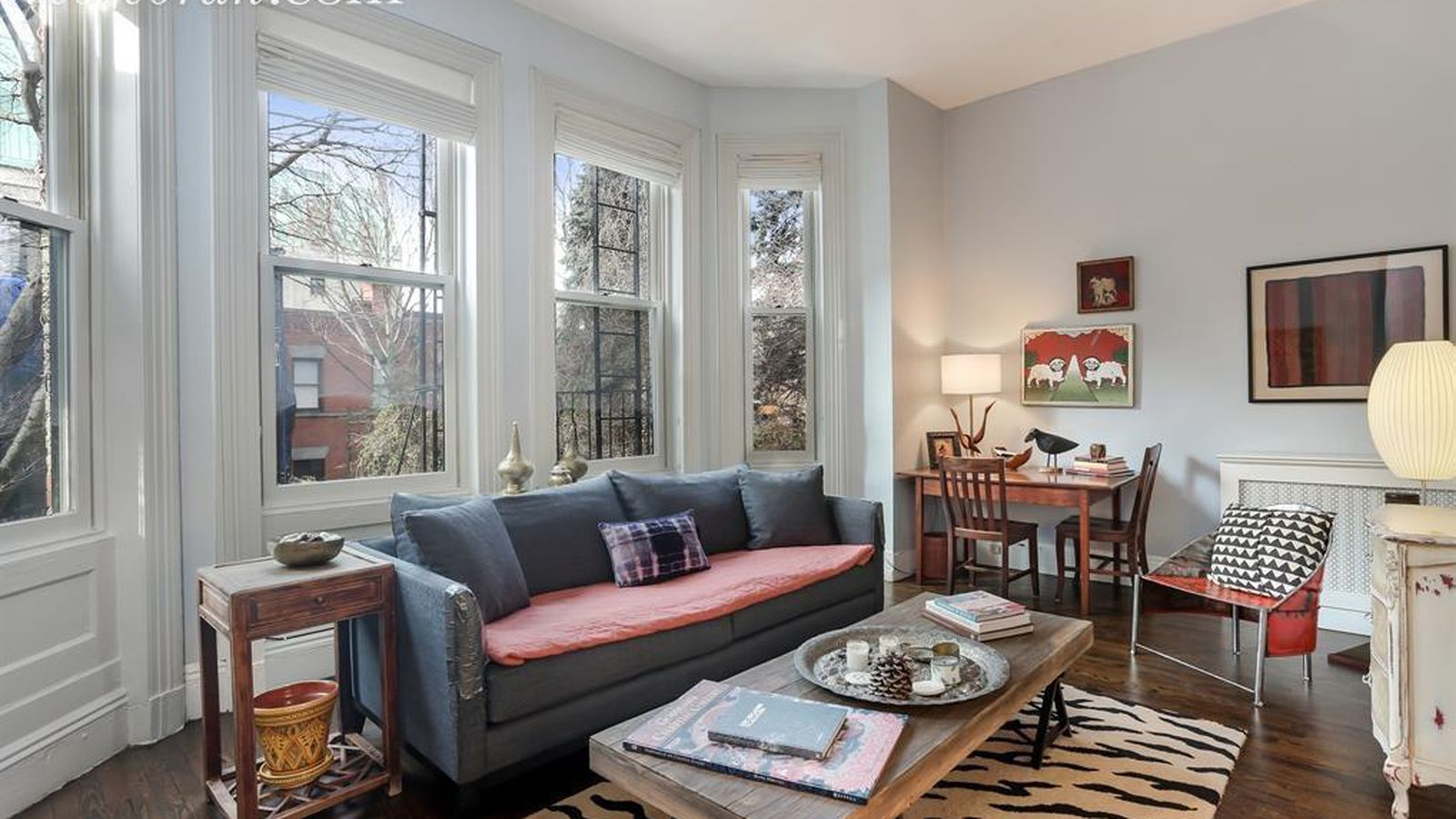Sweet clinton hill duplex with vintage character seeks for Nyc duplex for sale