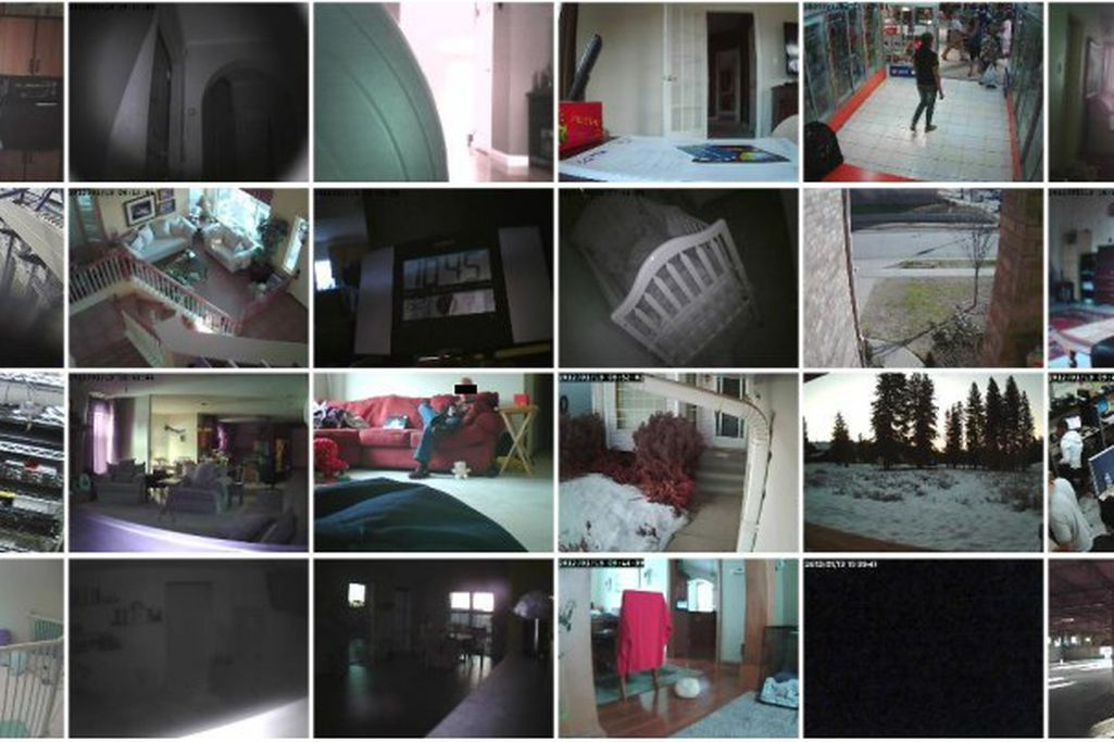 Home security webcams