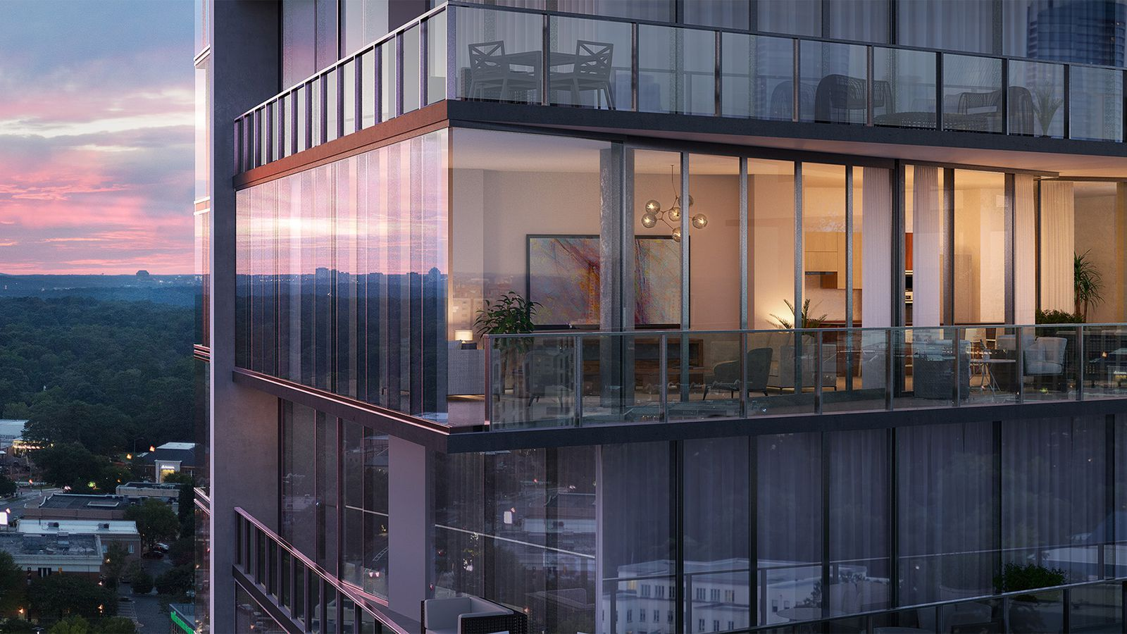 Renderings Buckhead S The Charles Condos Aim For Uber