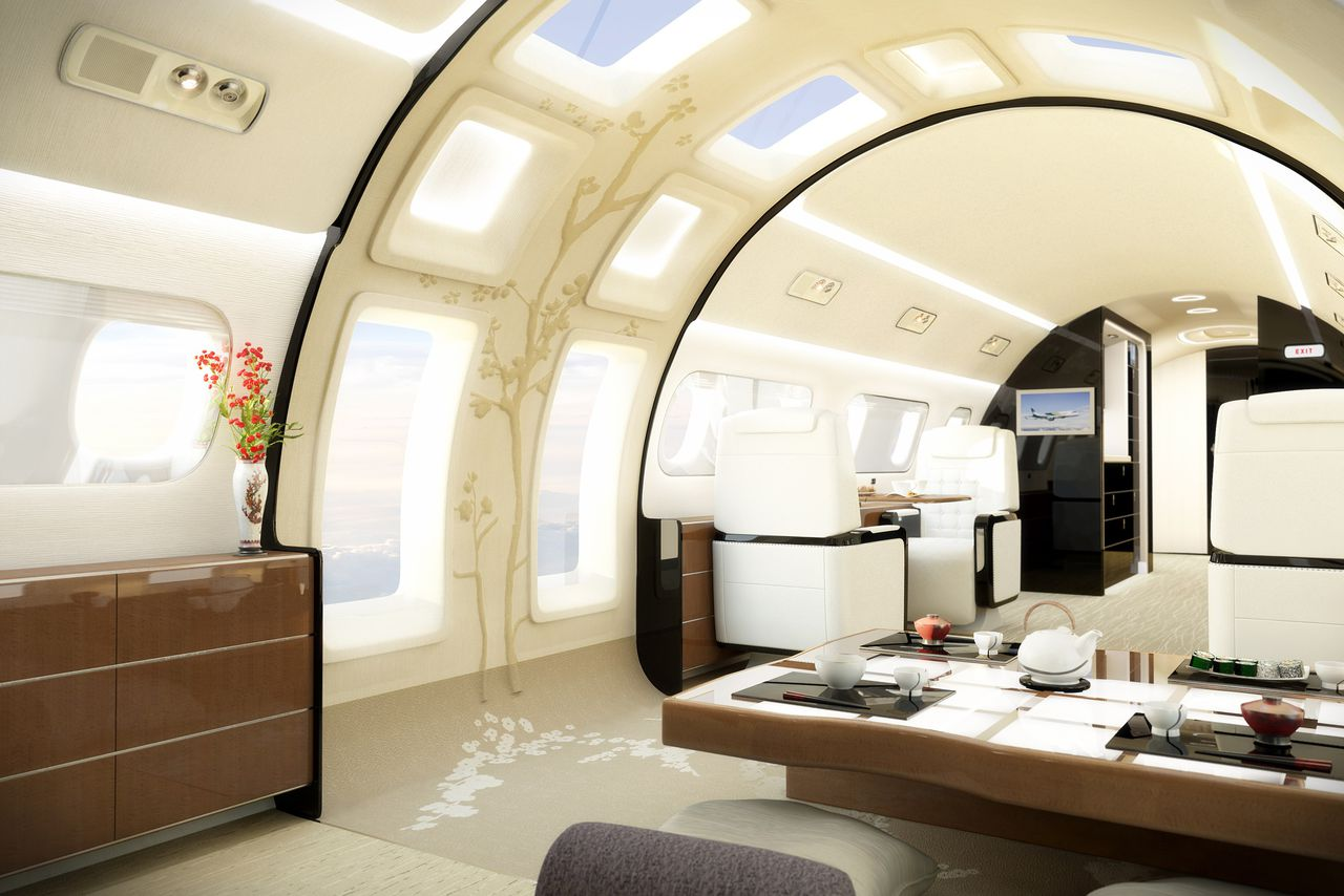 You Can Now Put A Sunroof In Your Private Jet  The Verge