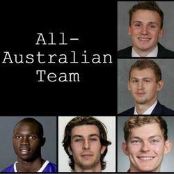 WCC All-Australian Team