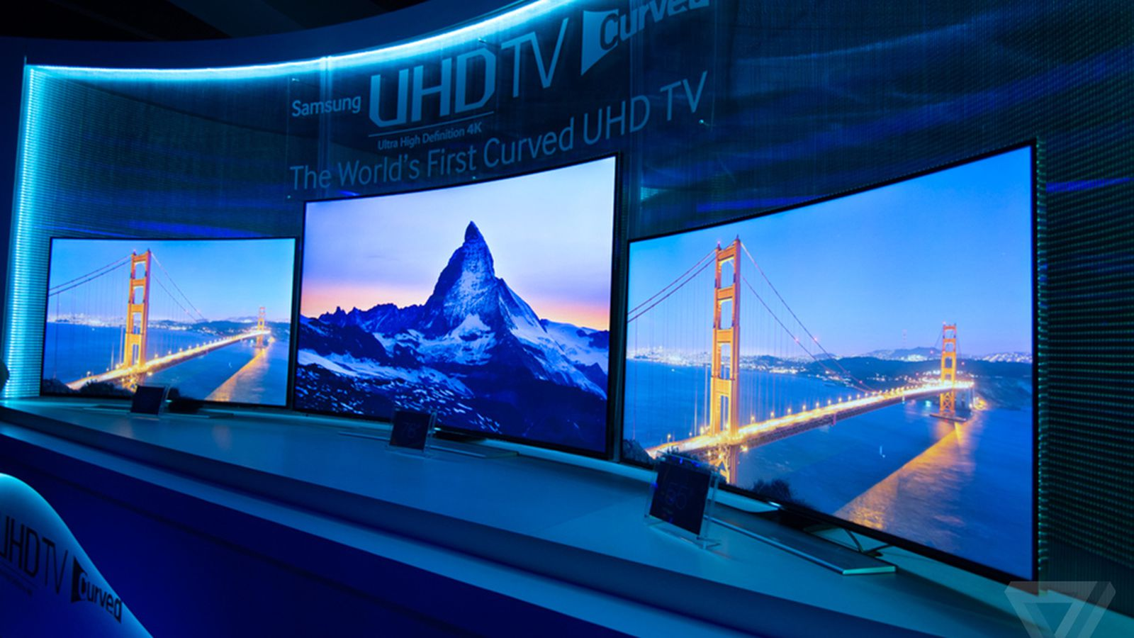 Samsung isn't giving up on curved TVs, will release at least 22 more models worldwide