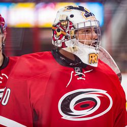 Jeremy Helvig. July 1, 2017. Carolina Hurricanes Summerfest and Development Camp, PNC Arena, Raleigh, NC. Copyright © 2017 Jamie Kellner. All Rights Reserved.