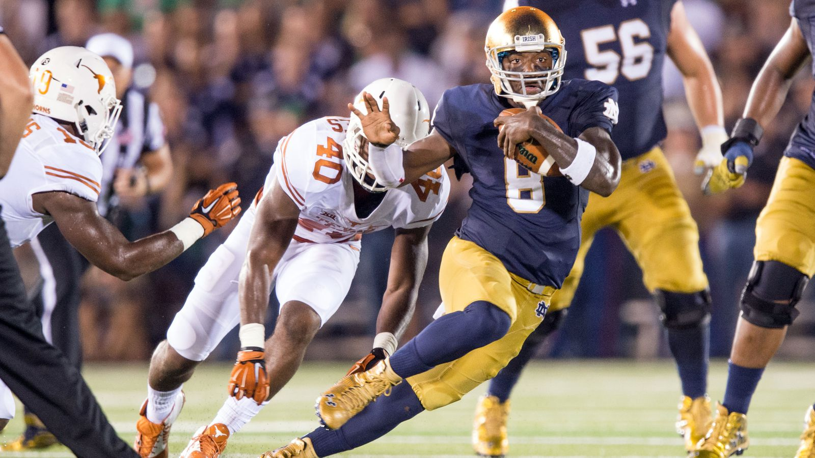 2015 Texas Vs Notre Dame Final Score 38 3 With 3 Things