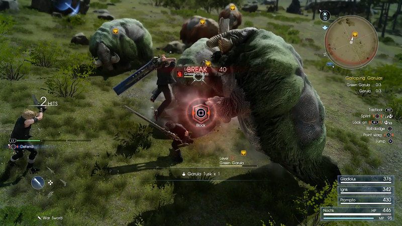 Review: Final Fantasy XV is a tale of two games