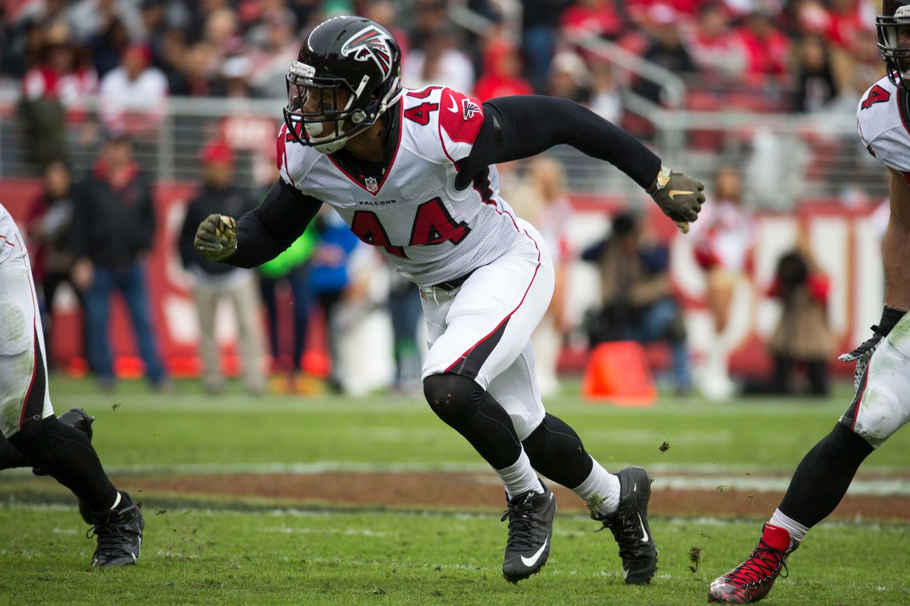 NFL Jerseys NFL - Atlanta Falcons roster review: Vic Beasley - The Falcoholic