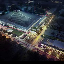 Seattle Coliseum Renderings
