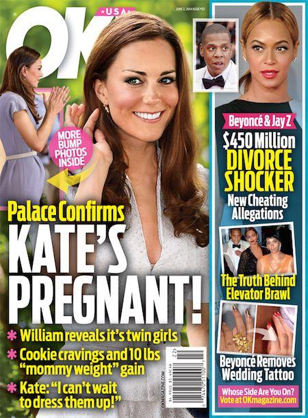 Kate Middleton's Pregnancy as Told Through Histrionic ...