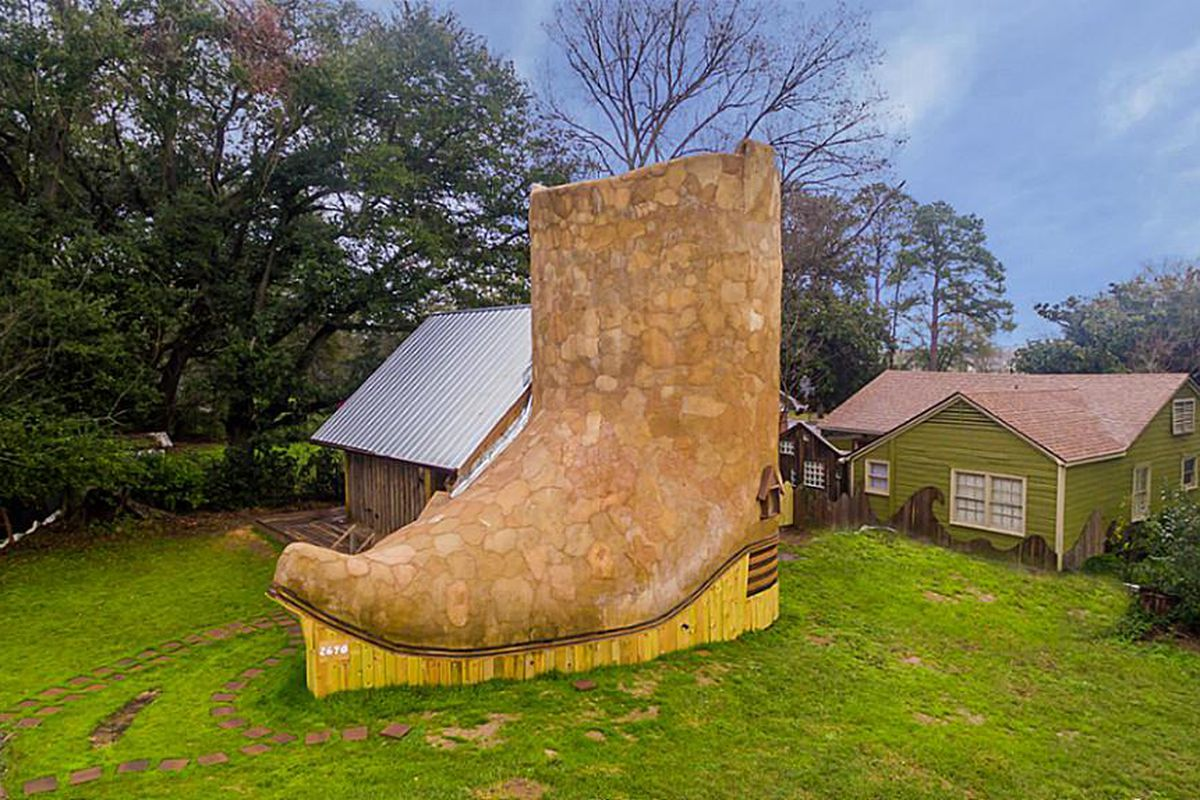 cowboy boot house in rents for 1 200 a month curbed