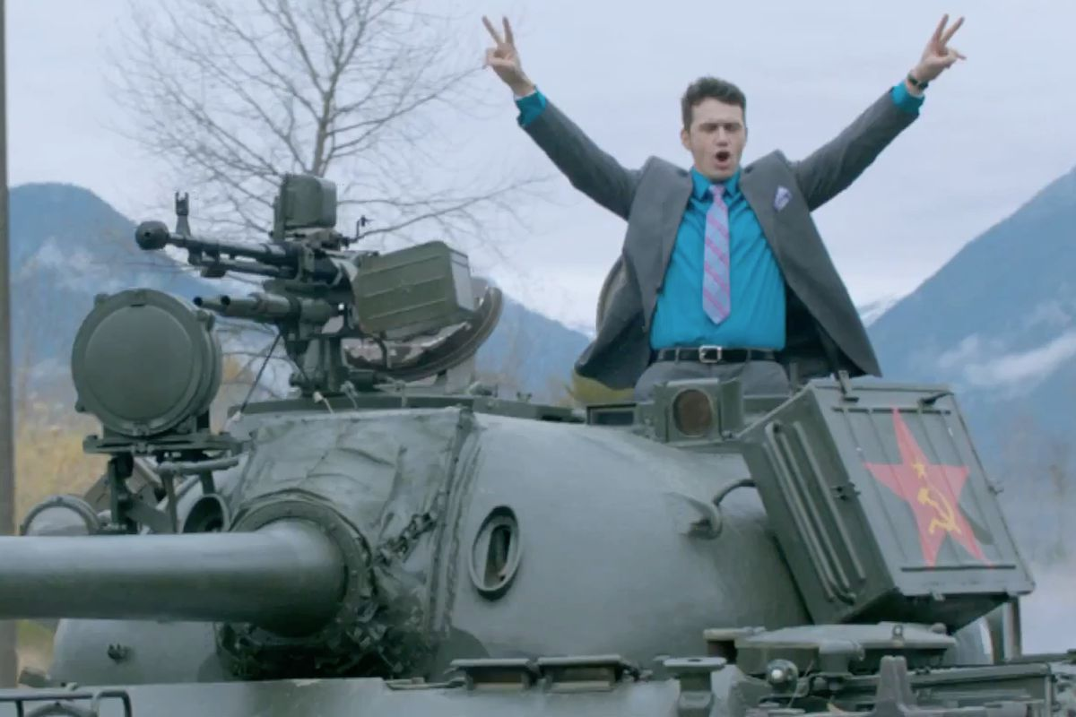 sony is now offering the interview online via xbox video update it s official sony will release the interview online at 1pm et today through xbox video and others it ll be 5 99 to rent and 14 99 to