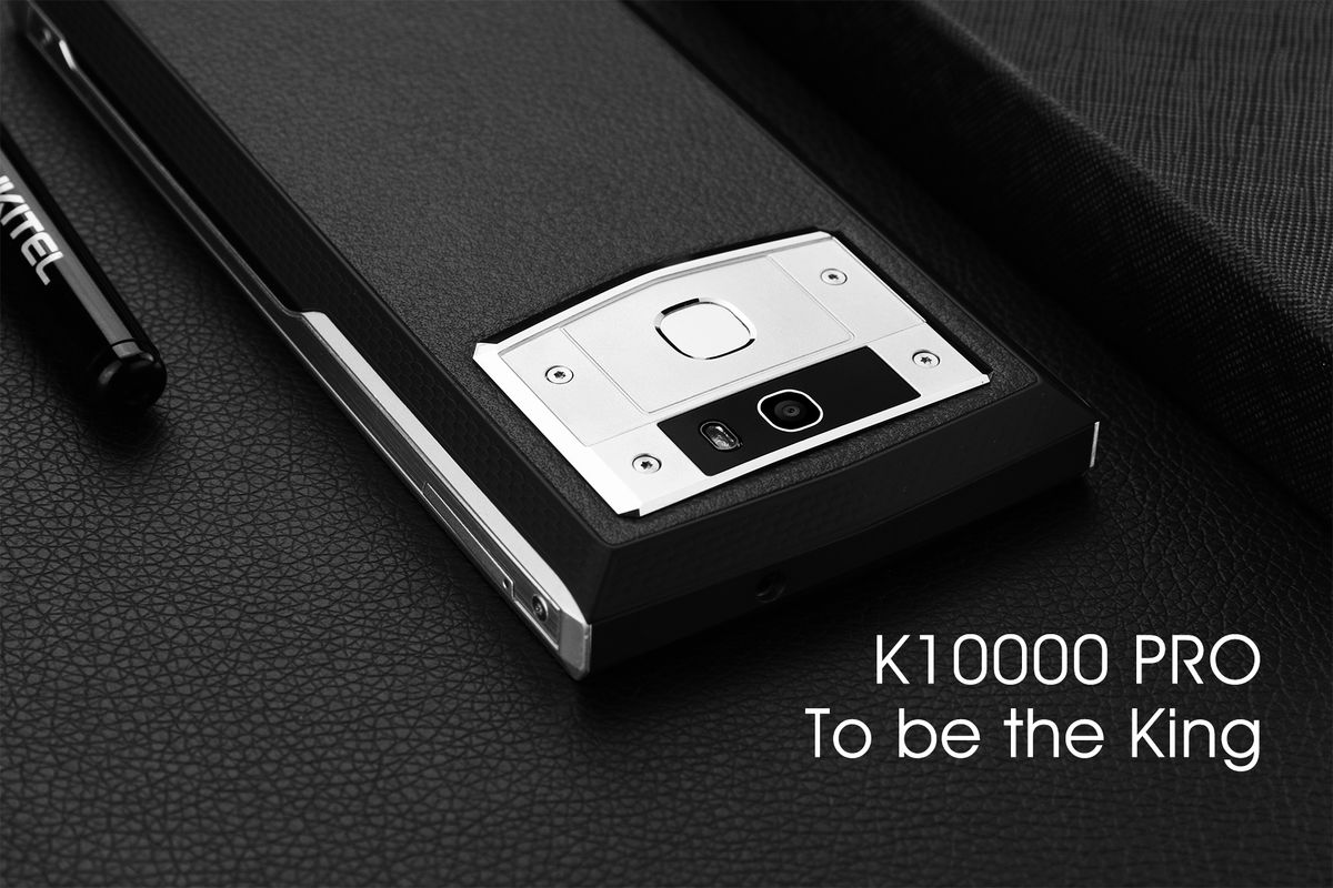 Oukitel's K10000 Pro can charge its 10000 mAh battery in three hours