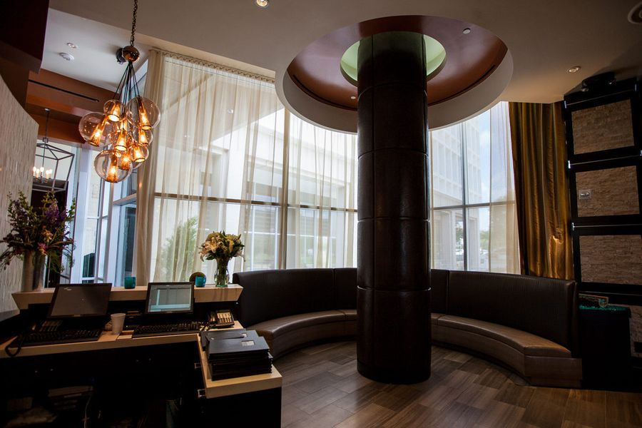 A look inside the new ruth 39 s chris steak house eater houston for O bar private dining room