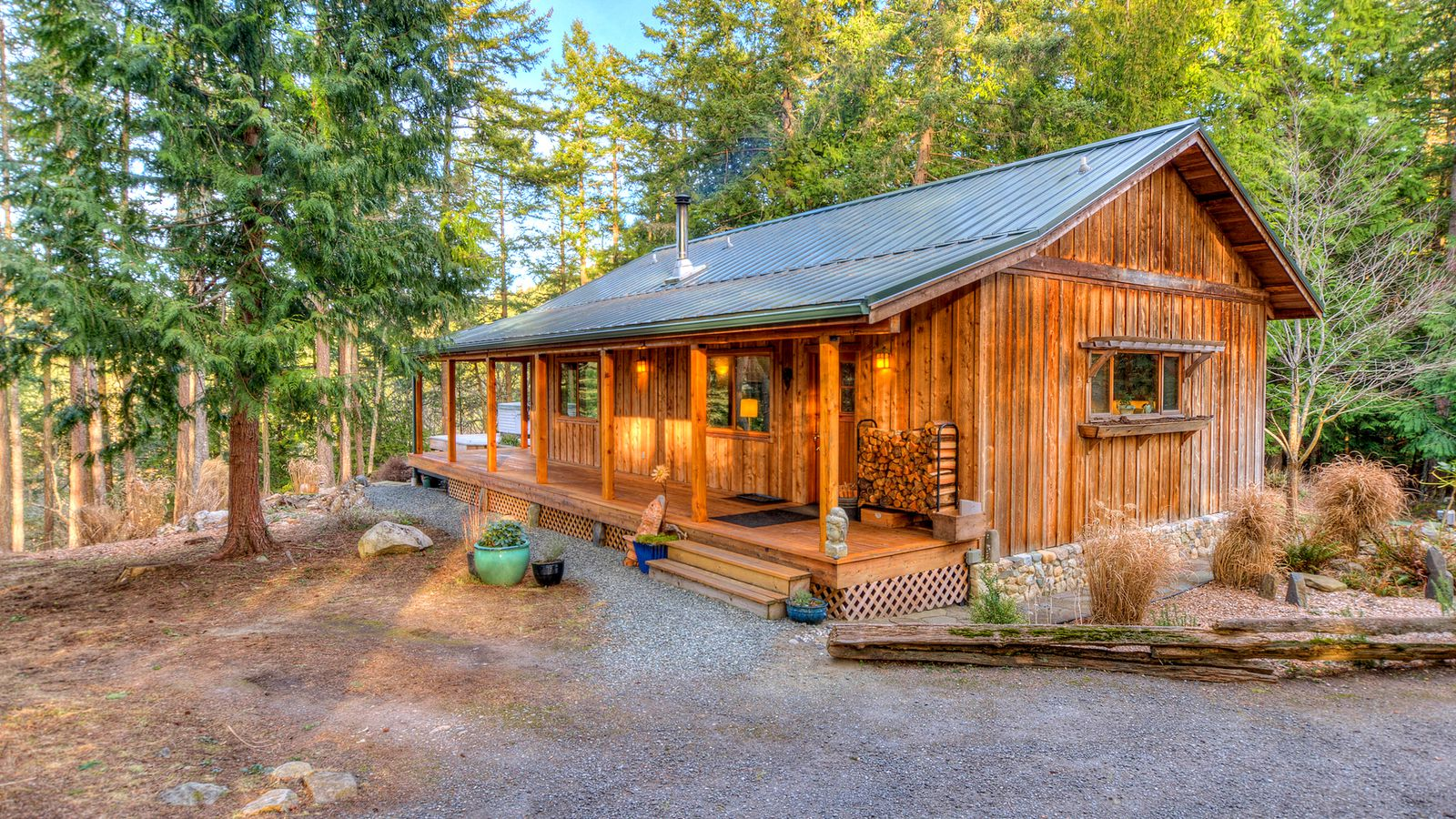 An orcas cabin and yurt for the perfect island lifestyle for Homes for sale orcas island wa