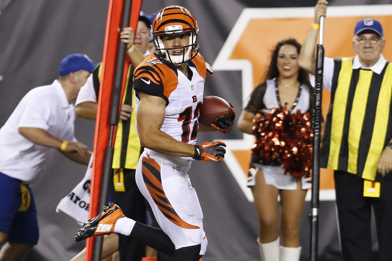 NFL Jersey's Women's Cincinnati Bengals Alex Erickson Pro Line Black Player Jersey