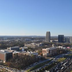 Atlantic Station from the 29th floor.