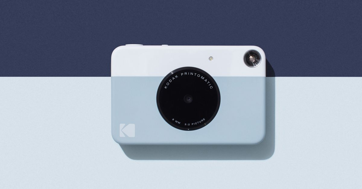 The Kodak Printomatic is just the Polaroid Snap with a new coat of paint