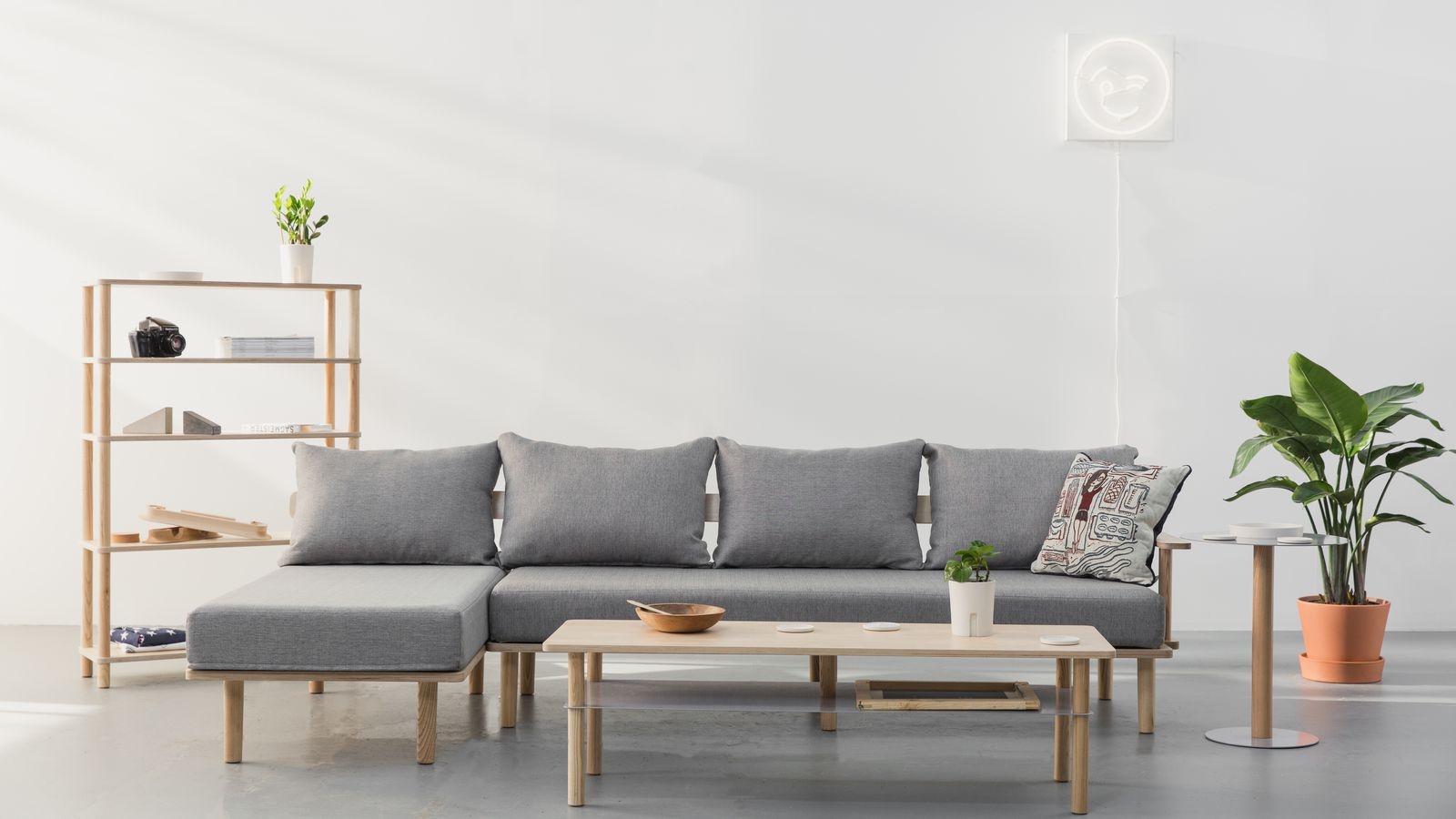 Ikea challenger greycork expands flatpack furniture for Affordable modern furniture new york city