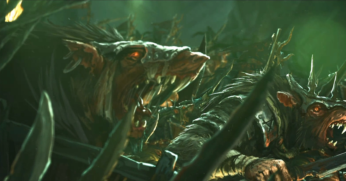 Watch 40 minutes of the Skaven gameplay from Total War: Warhammer 2