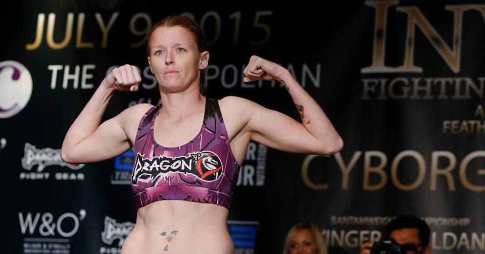 Invicta FC bantamweight champion Tonya Evinger won't beg for UFC contract