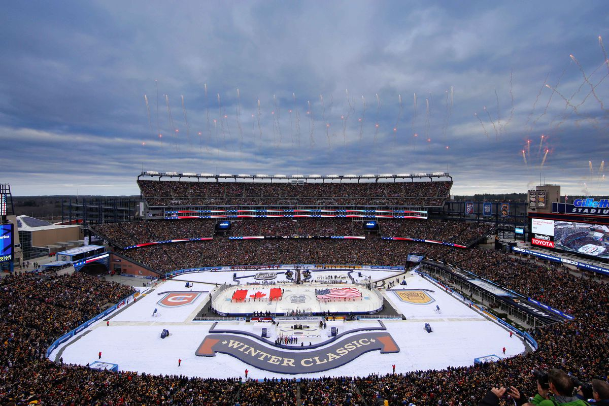 Mapping The Perfect Columbus Blue Jackets Stadium Series - The Cannon