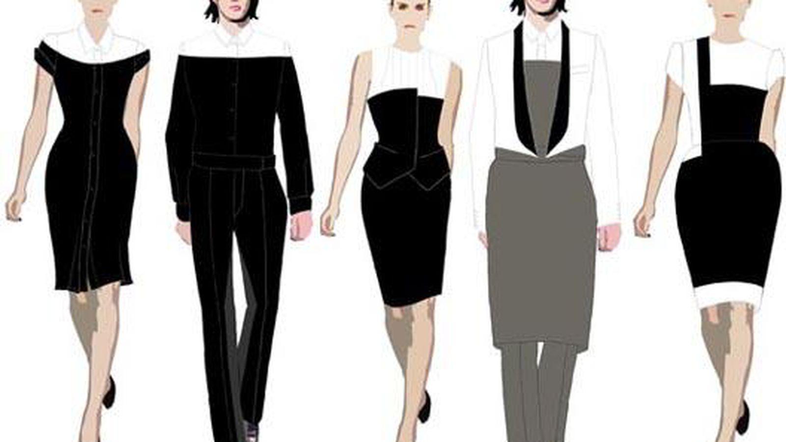 Uniformwire sbe 39 s designer duds for sls bazaar staff for Uniform spa sistemi per serramenti