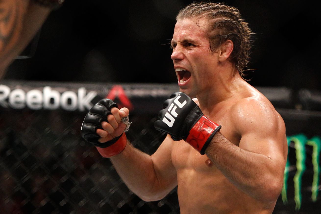 community news, Somethings fishy! Urijah Faber has a problem with floppy boobs and back fat