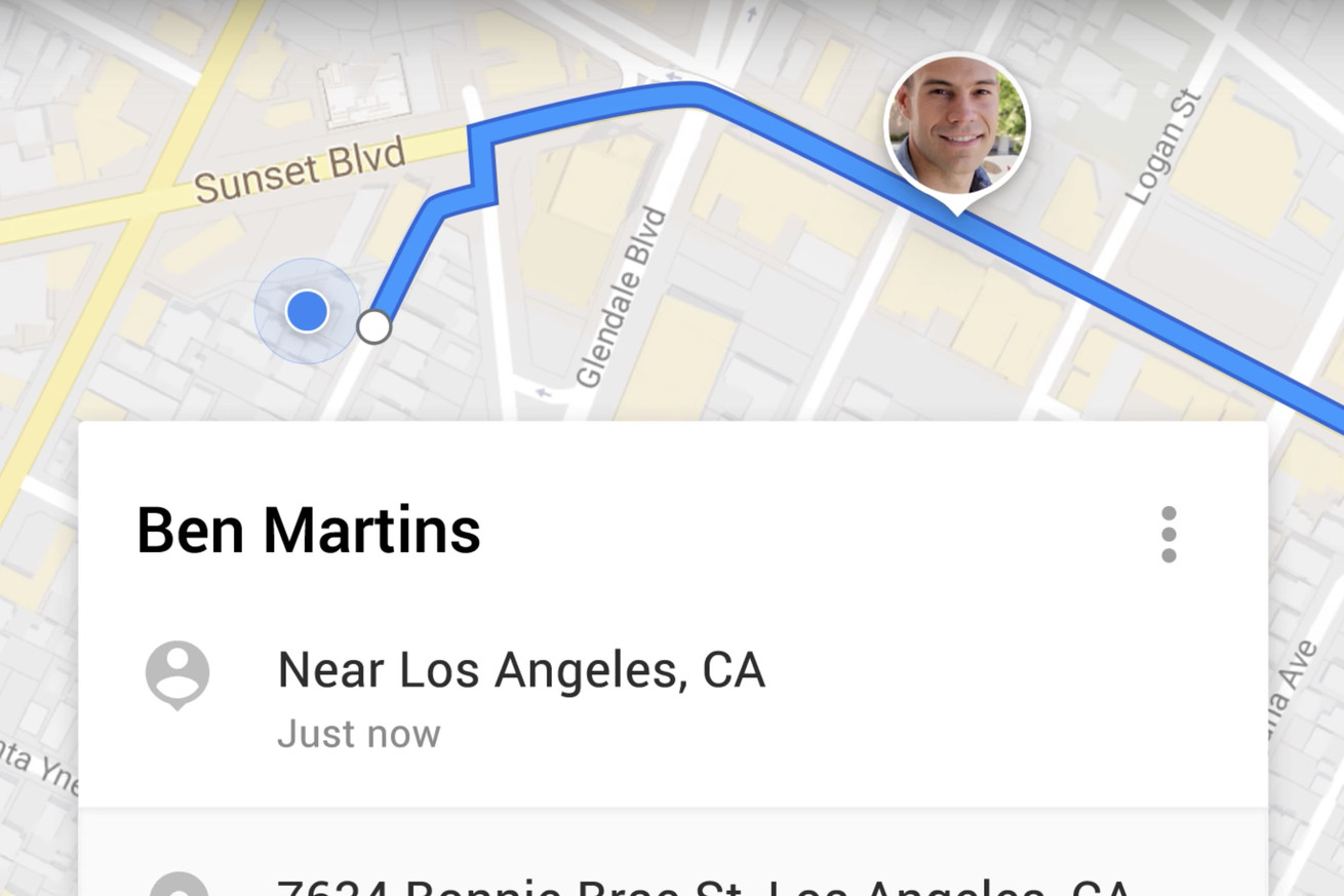 google maps can now temporarily share your real time location with friends