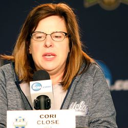 UCLA coach Cori Close<br>