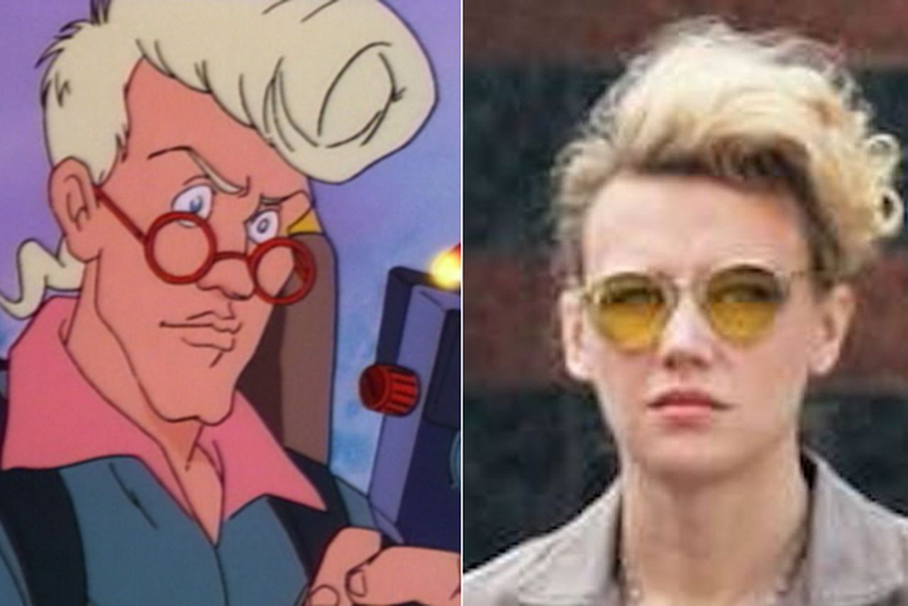 Why kate mckinnon s ghostbusters character looks so familiar the