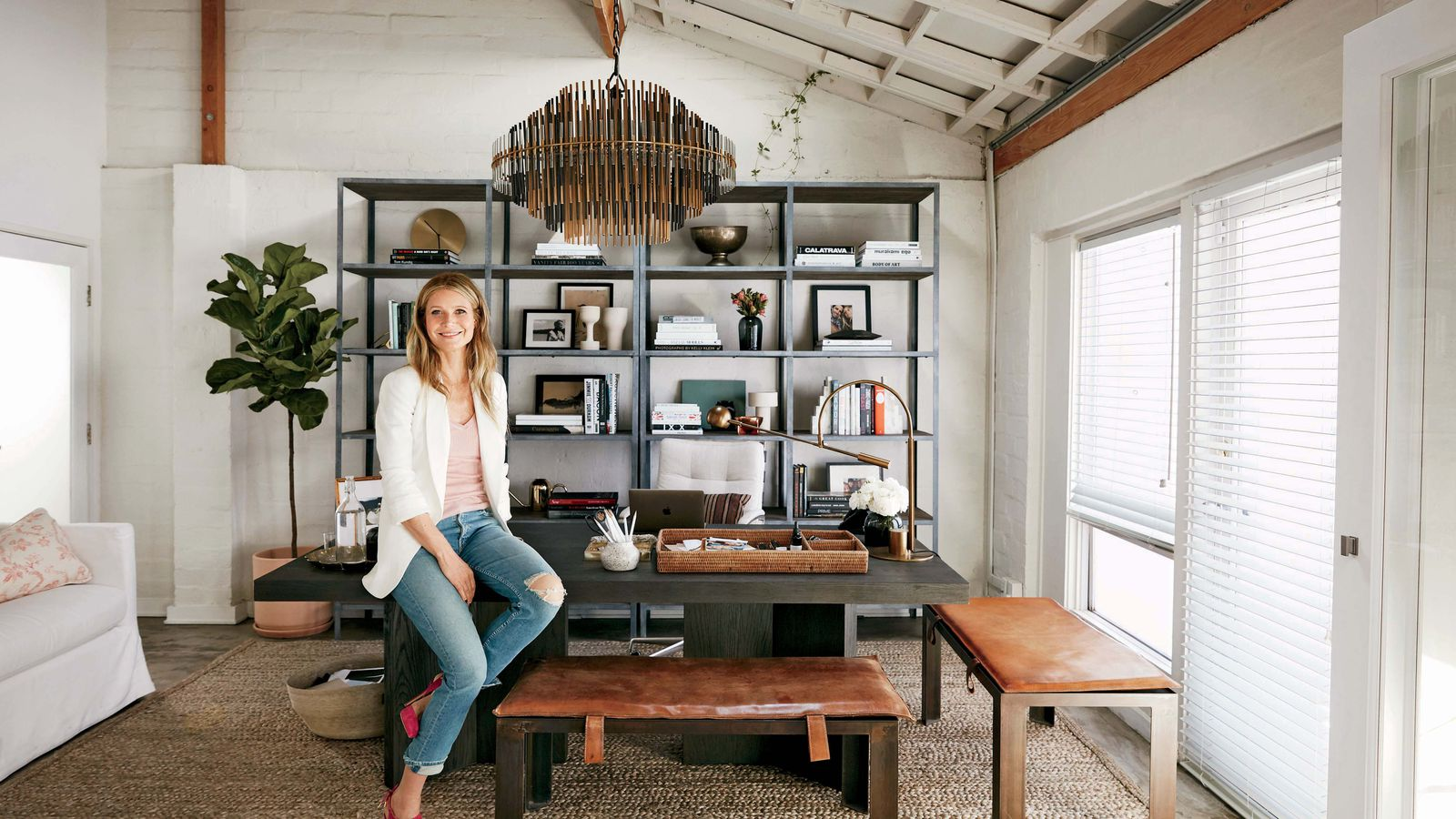 Inside Gwyneth Paltrow S Goop Headquarters In Santa Monica