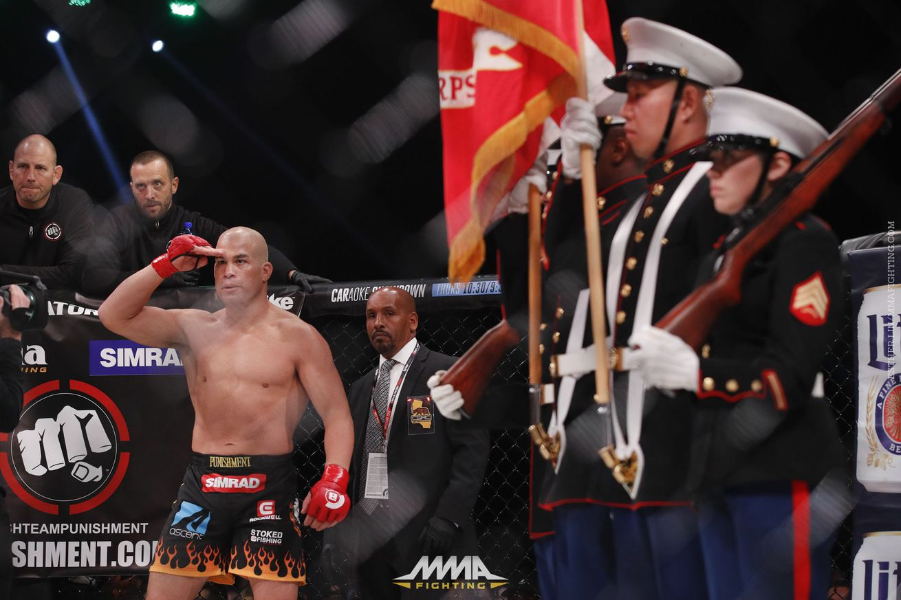 It wasn't perfect, but Tito Ortiz stuck around for a happy ending