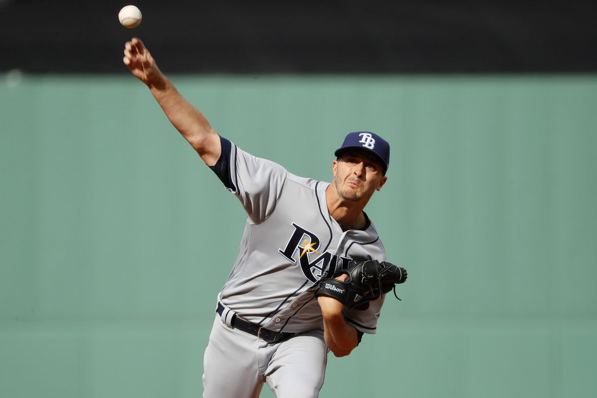 Rays starter Jake Odorizzi leaves with tight left hamstring
