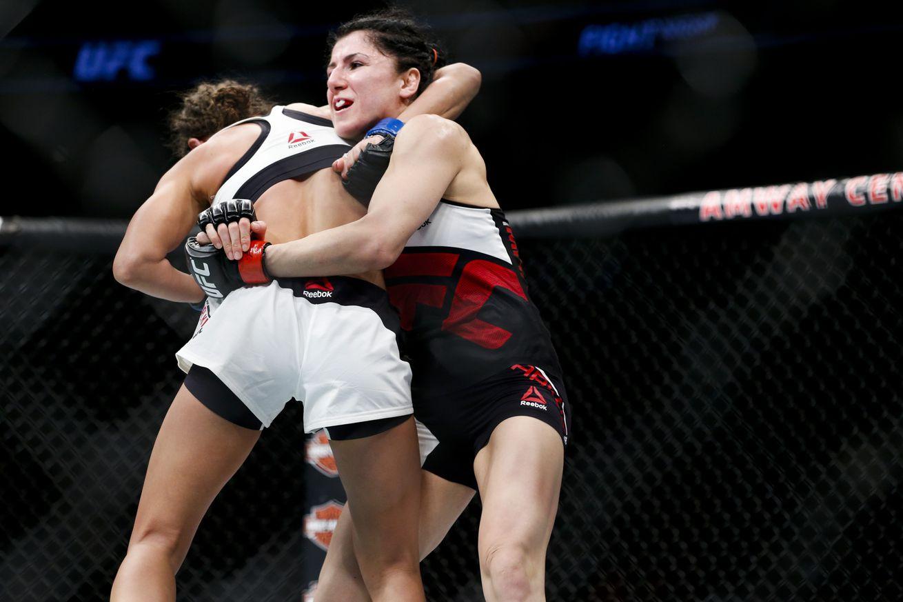 Randa Markos meets Jocelyn Lybarger at UFC Fight Night 89