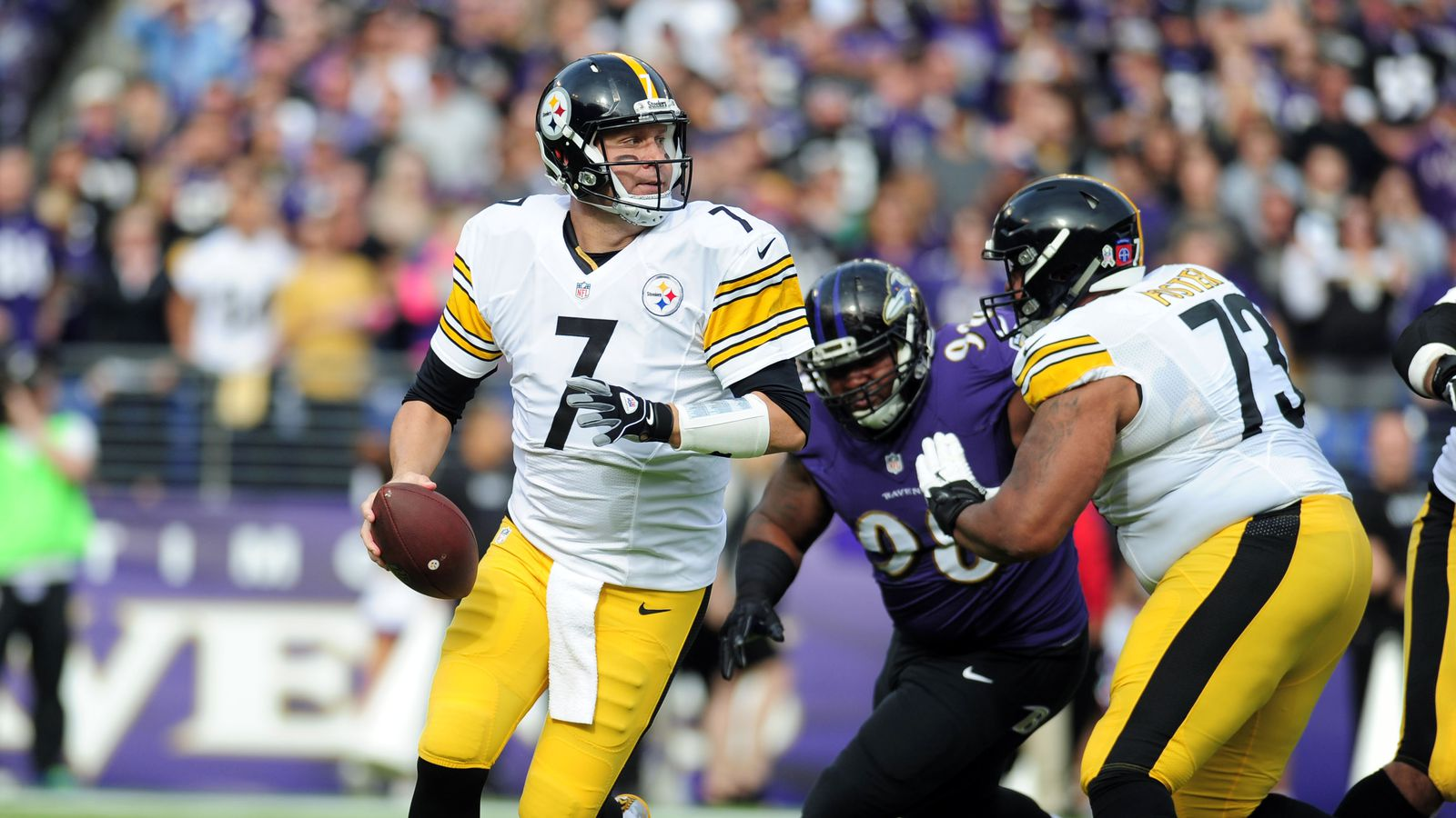 Steelers lose game, and division lead, to Ravens in Week 9 ...