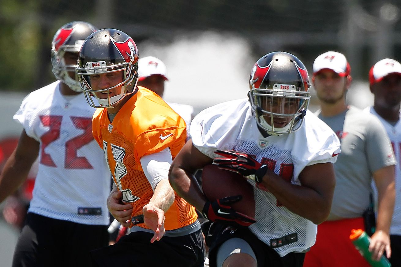 Jerseys NFL Wholesale - Doug Martin and Charles Sims for Hack and Slash - Bucs Nation