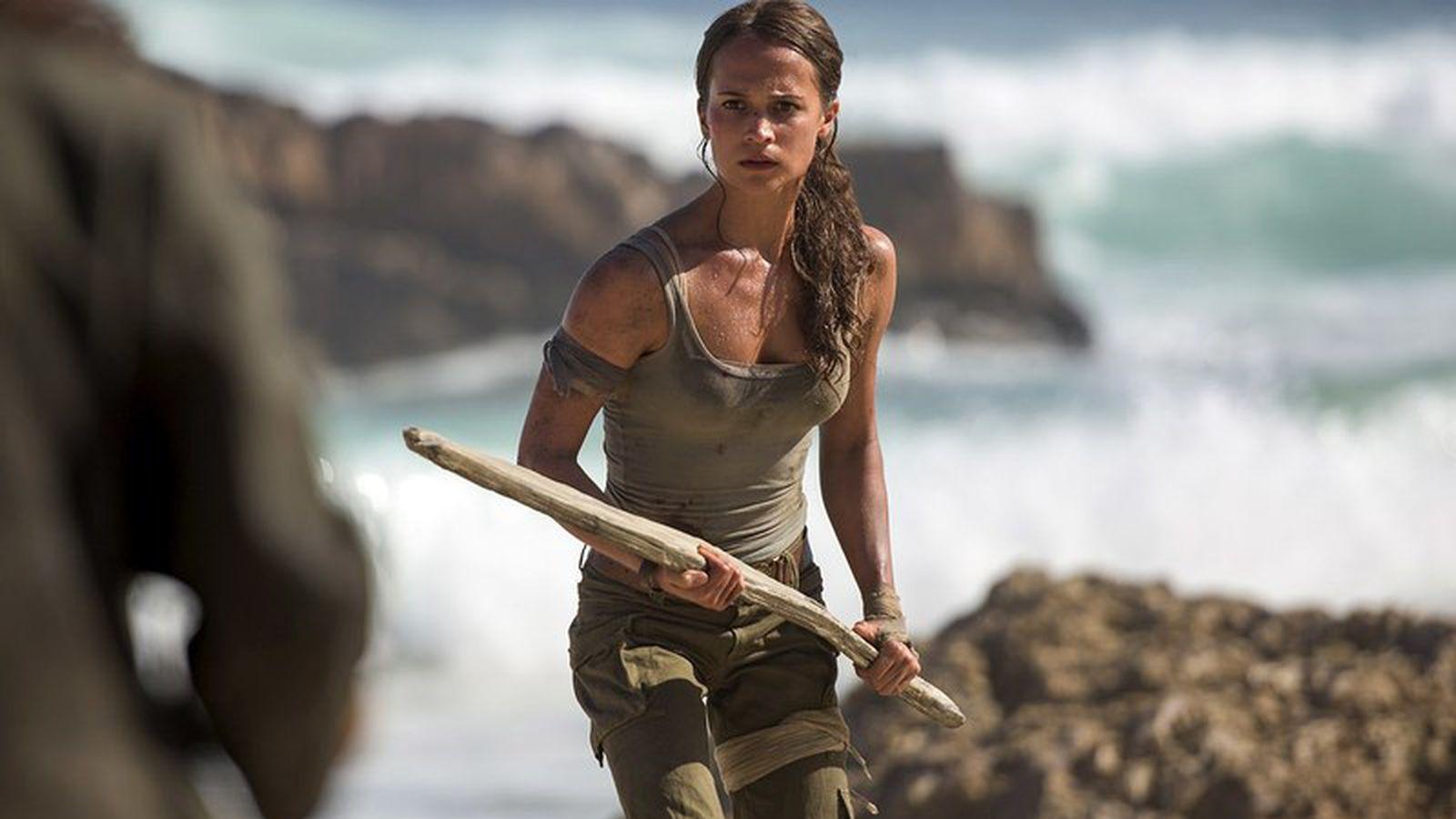 Alicia Vikanders Lara Croft looks just like the new Tomb Raider video games