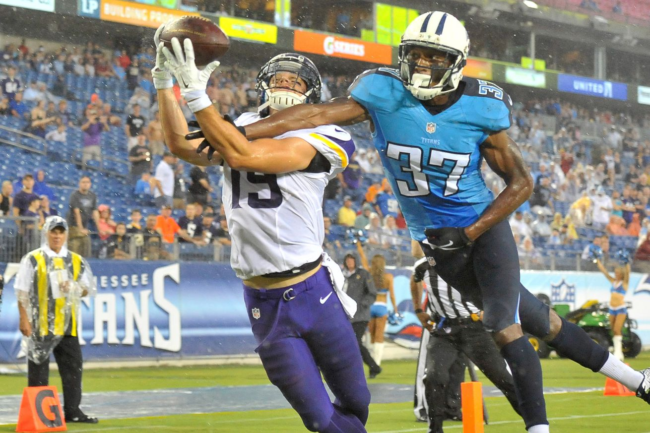 NFL Jerseys Outlet - Minnesota Vikings vs. Tennessee Titans Final Score: Minnesota Caps ...