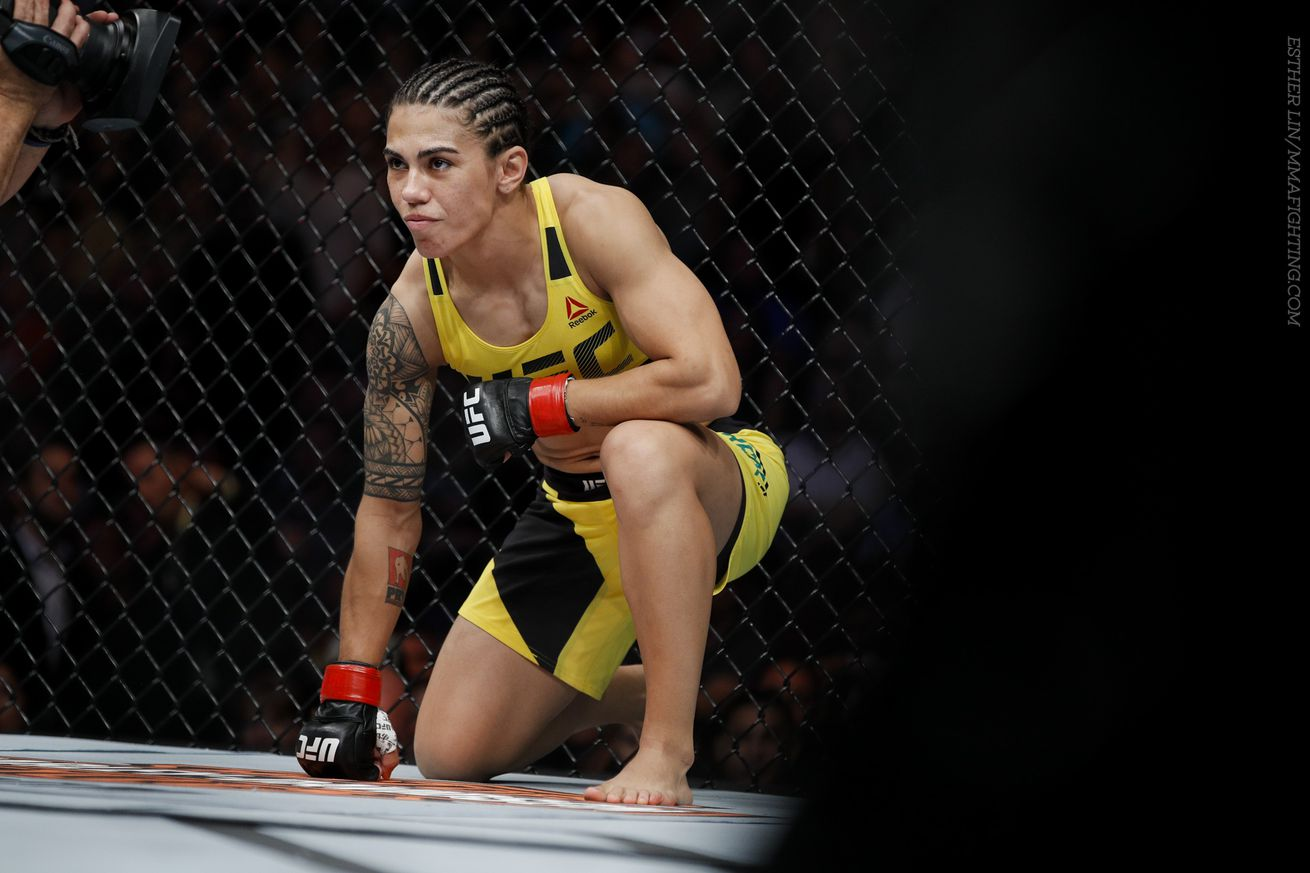 Jessica Andrade eyes UFC return in Houston against Michelle Waterson, Karolina Kowalkiewicz or Angela Hill