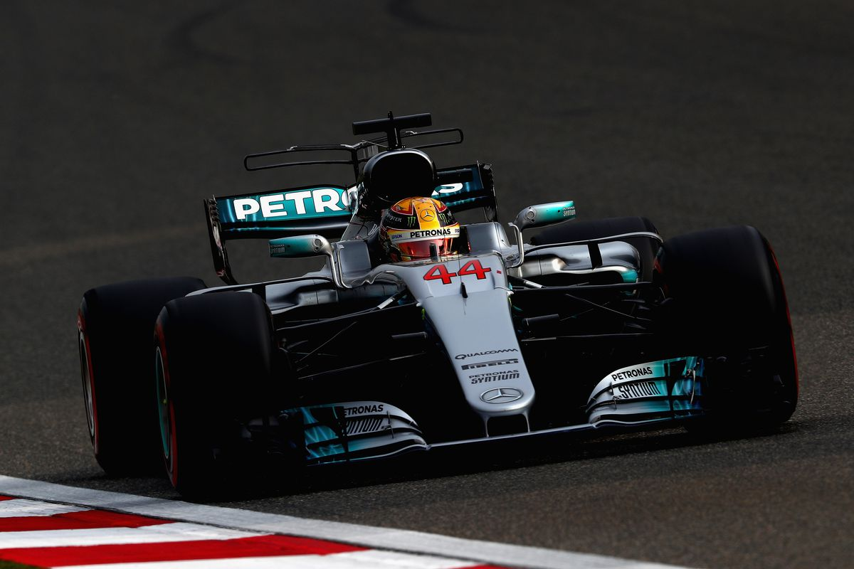F1 Chinese Grand Prix - Race Results