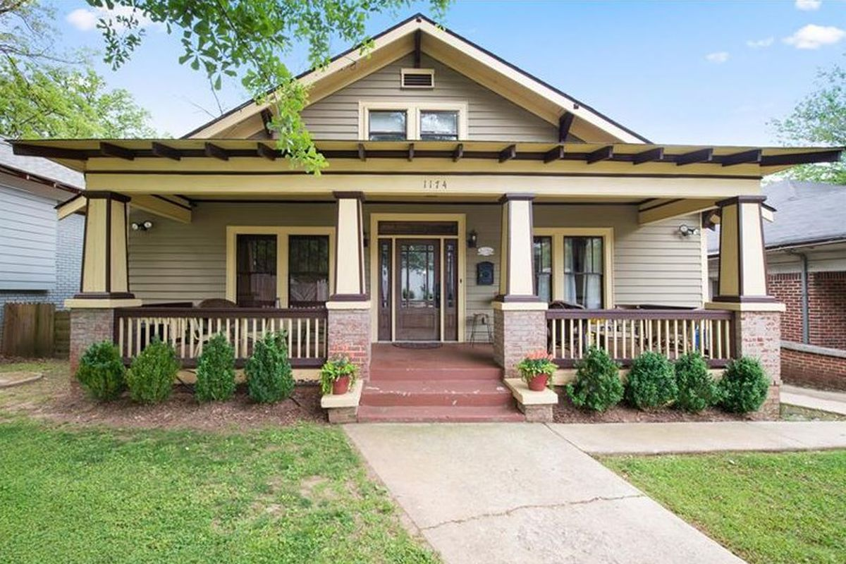 In west end atlanta charming craftsman bungalow aims to for New craftsman homes for sale