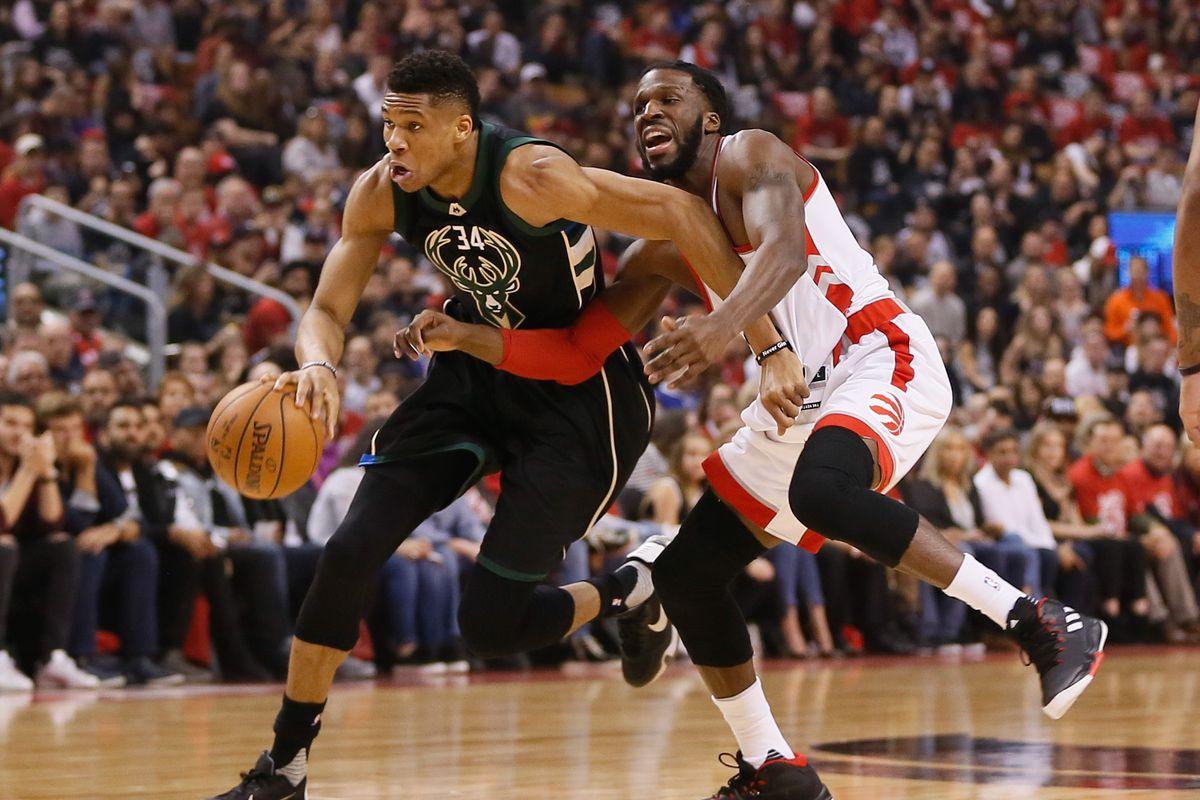 Raptors beat Bucks 87-76 in slugfest, tie series at 2-2