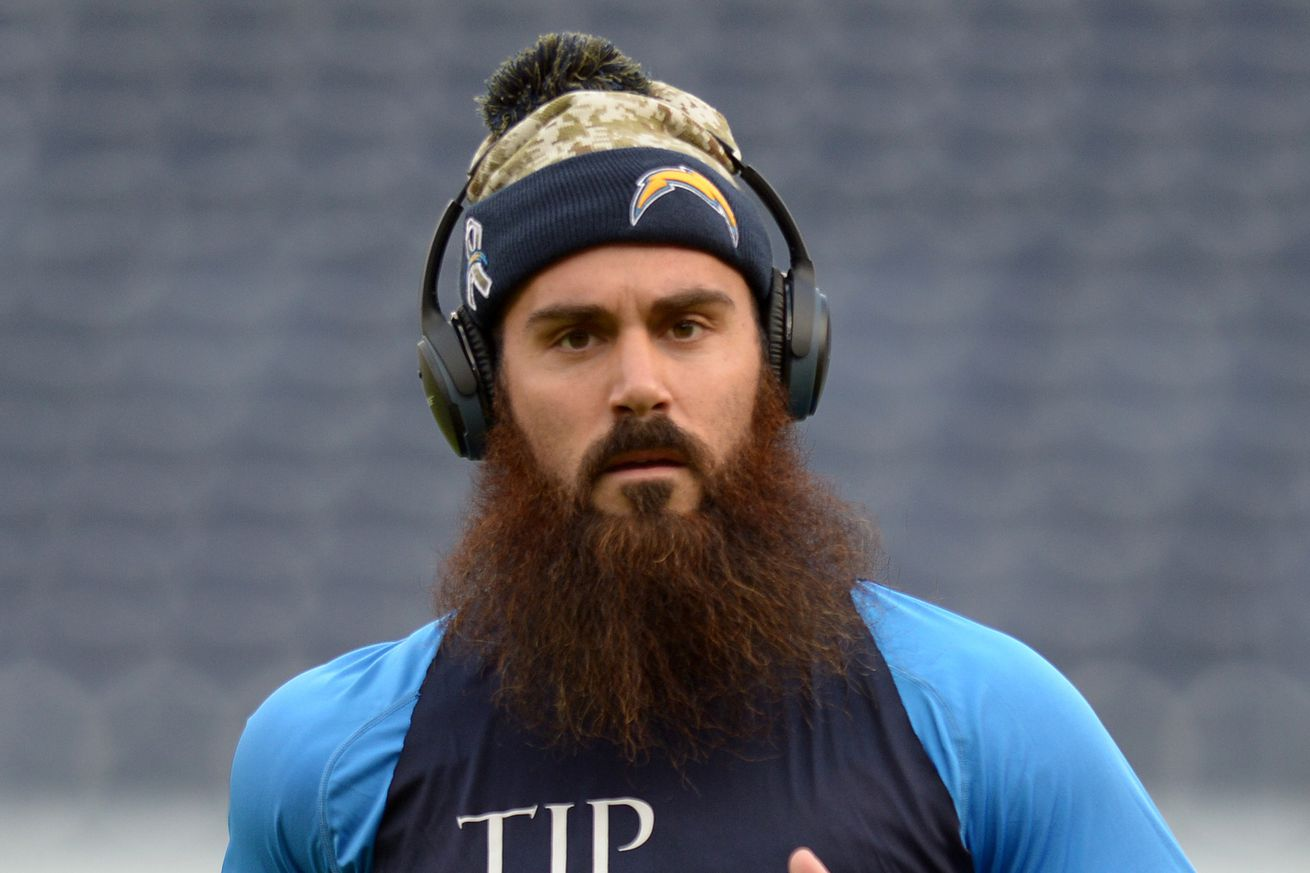 The San Diego Chargers Should Franchise Tag Eric Weddle