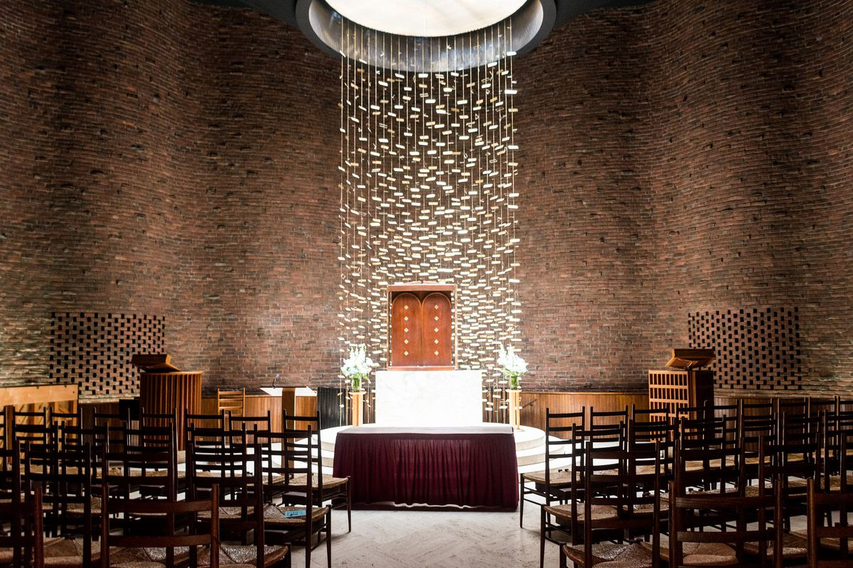 Eero Saarinens MIT Chapel And The First Couple To Wed