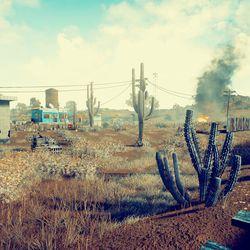 <em>Playerunknown's Battlegrounds</em> upcoming desert map.